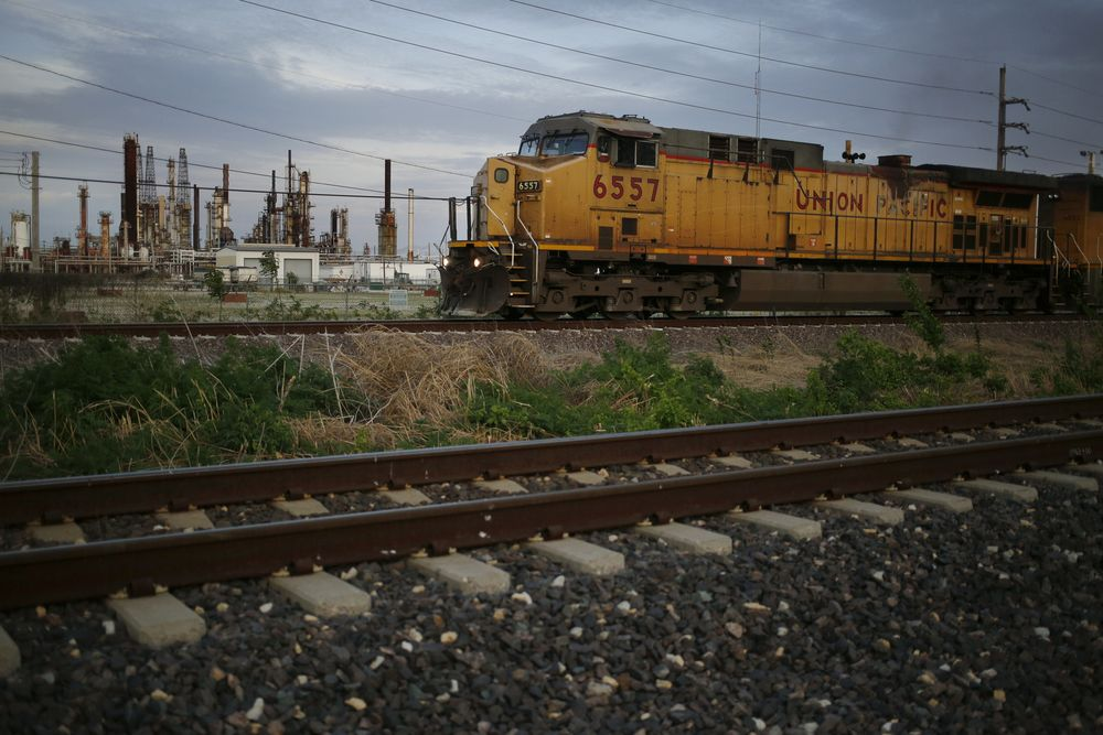 Union Pacific Surges Most Since 2009 as COO Hiring Dazzles