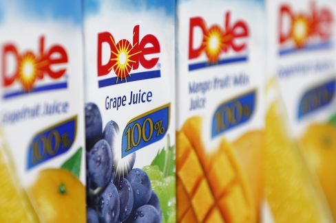 Dole Food CEO Murdock Raises Offer 13% to Take Company Private