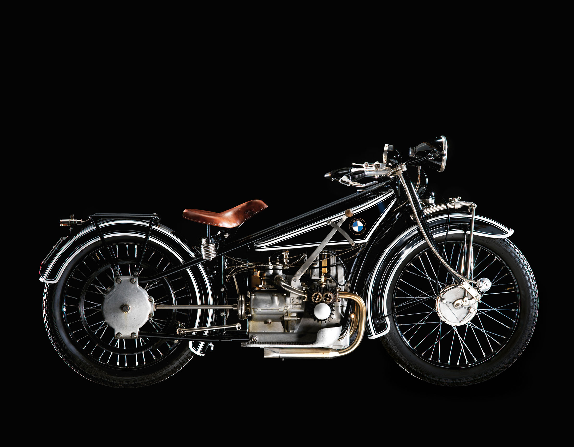 The First BMW Motorcycle