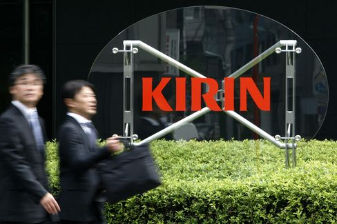 Kirin Deal Shows 'Only Chance' to Take Advantage of Strong Y