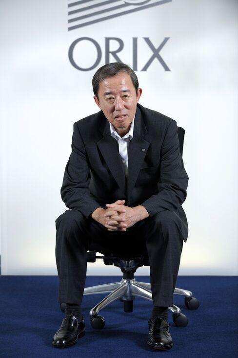 Orix Corp. President Makoto Inoue