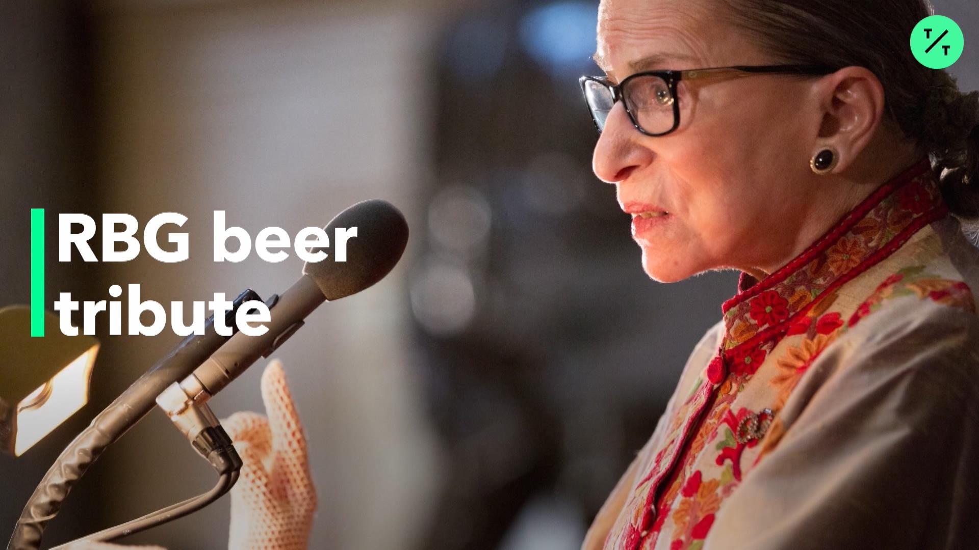 Samuel Adams Tributes Beer To RBG