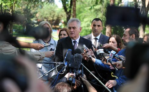 Serbs Choose Nikolic in Protest Over EU-Inspired Austerity