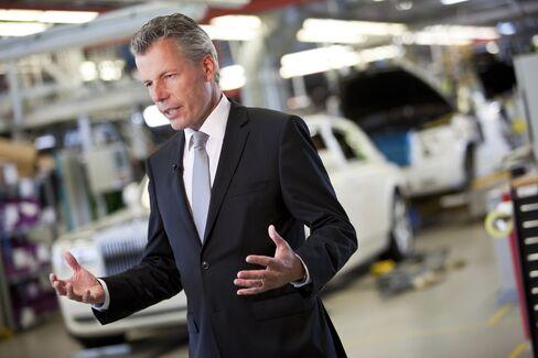 Rolls-Royce Motor Cars Ltd CEO Torsten Mueller-Oetvoes