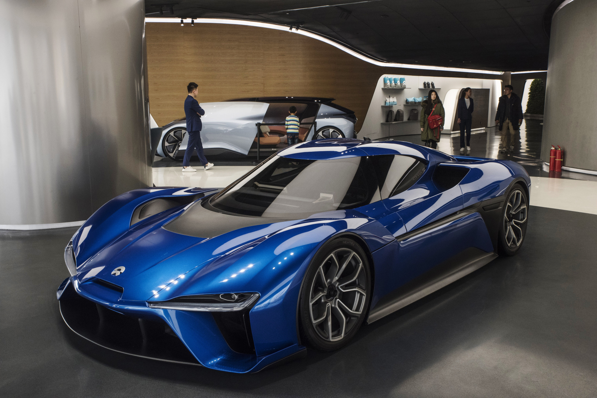 china's nio has the electric-car look, but it's no tesla - bloomberg