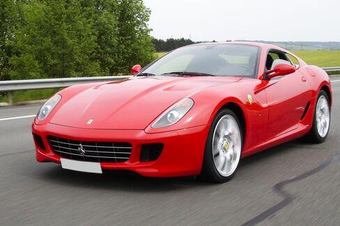 The last car Ferrari delivered with a stick-shift manual transmission was a 599 GTB Fiorano.
