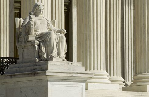 General Views Outside The Supreme Court As Health Care Debate Begins