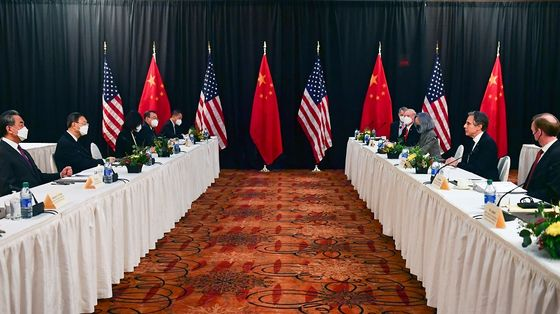 U.S.-China Talks in Alaska Quickly Descend Into Bickering
