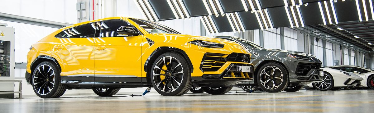 Deep Inside the Lamborghini Urus Factory , Bloomberg