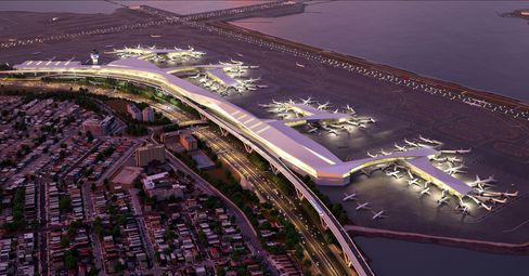 LaGuardia'sthree mainterminals would be replaced by one modern unified terminal. Will it fly?