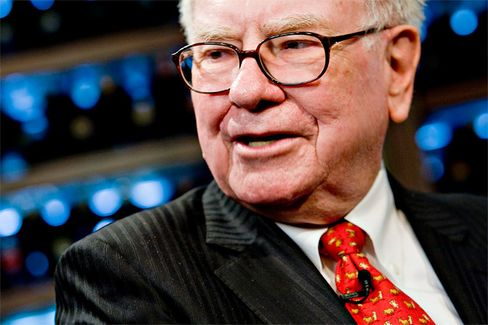 Buffett Puts on a Party Hat