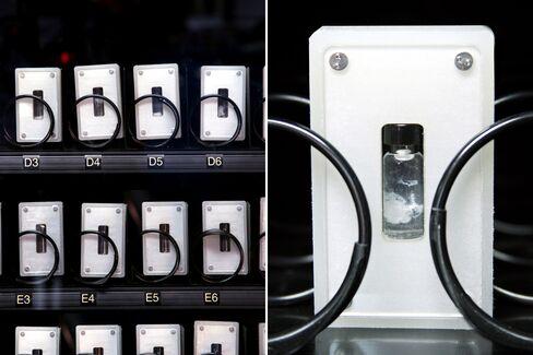 Gabriel Barcia-Colombo's DNA Vending Machine.