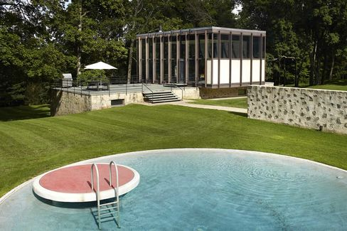 The Wiley House is located in New Canaan, Conn., a regional hotbed of midcentury modernist design.