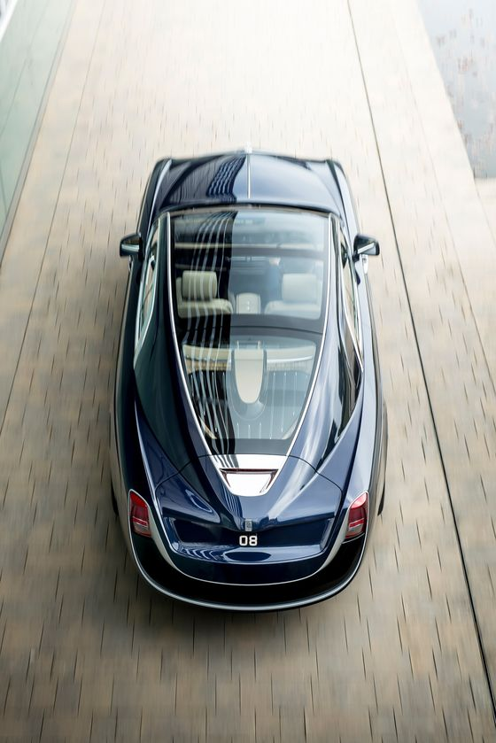 With New Boat-Shaped Cars, Rolls-Royce Announces Client Design Program