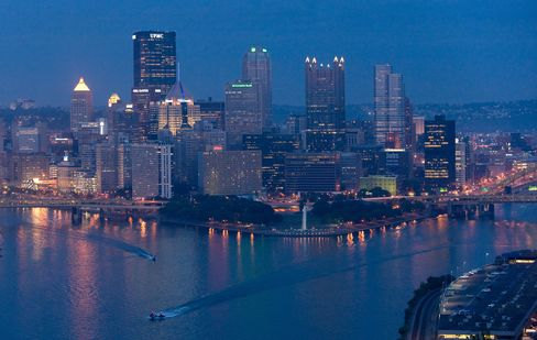 Pittsburgh's Revival Sparked by Gas Frackers Spurned by Council
