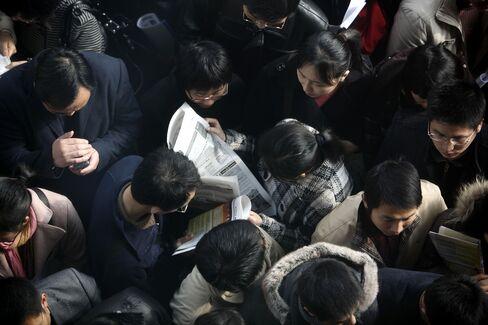 China's Graduate Job Market Shows Signs of Stress on Slowdown
