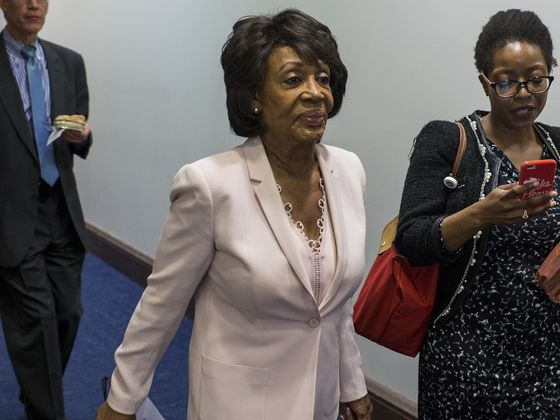 What If Maxine Waters Takes the Gavel and Wall Street Loves It?