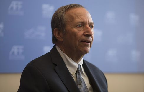 Former Treasury Secretary Lawrence Summers