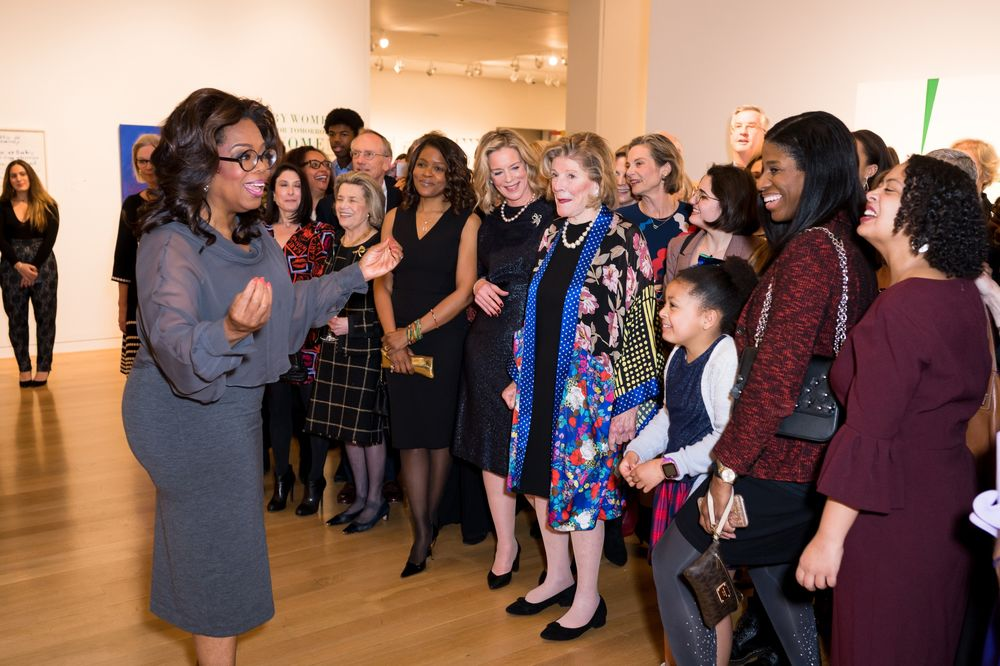 Oprah Tells Miss Porter's Alums What She Wants to Buy Next