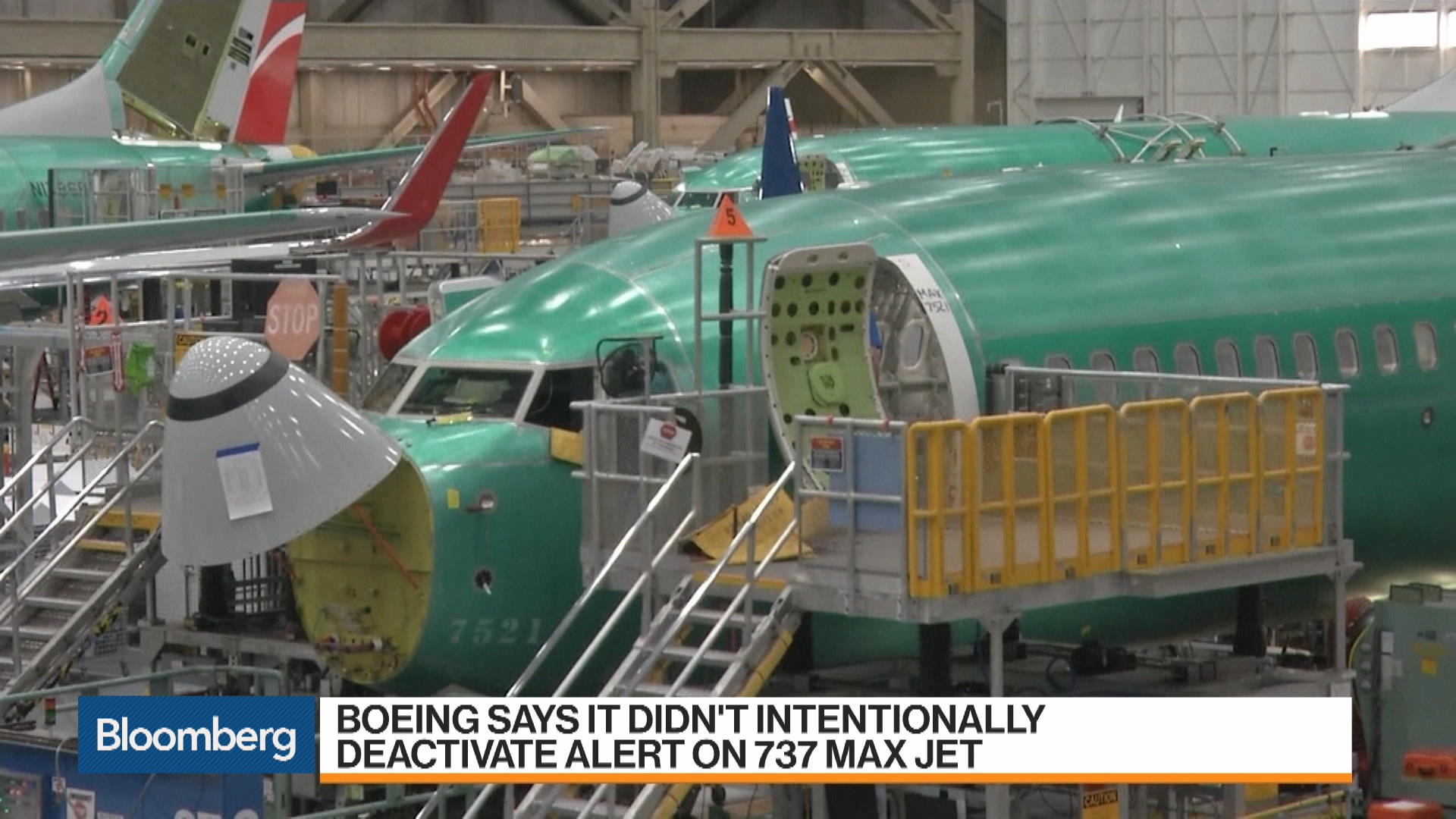 Boeing Says It Didn't Intentionally Deactivate Alert on 737