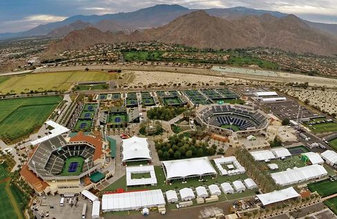 The Indian Wells Tennis Garden hosted 456,000 fans this year.