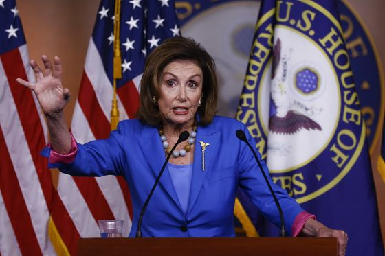 Pelosi Regroups on Infrastructure With Hopes for Friday Vote