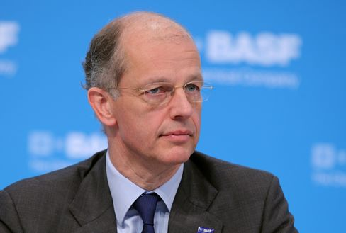 BASF SE Chief Executive Officer Kurt Bock