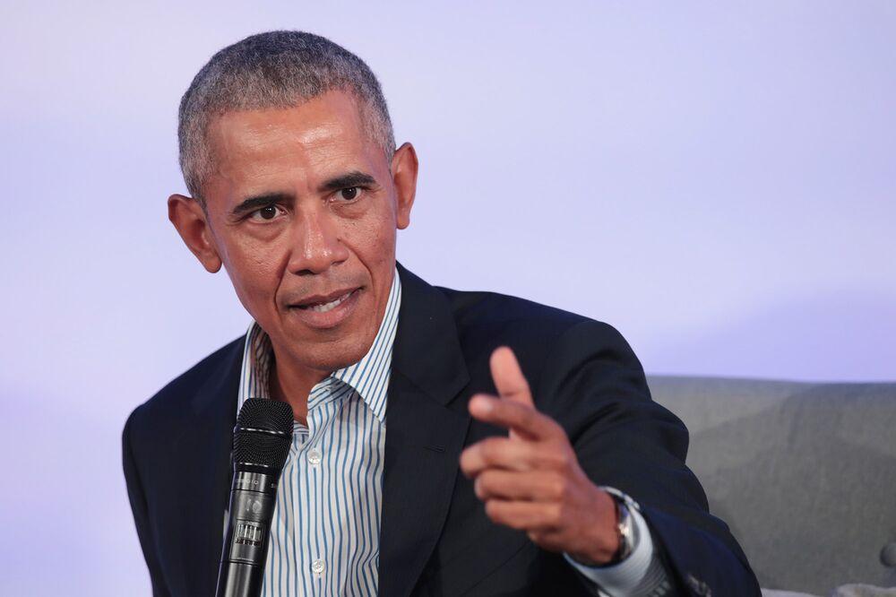 Obama Blasts Trump's Virus Response as 'Chaotic Disaster' - Bloomberg
