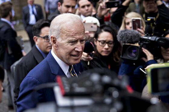 Biden Jokes About Touching in First Appearance Since Women's Complaints
