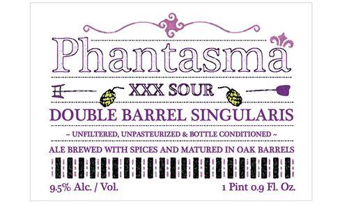 OEC Brewing's (Oxford, Conn.) Phantasma XXX Sour Double Barrel Singularis.