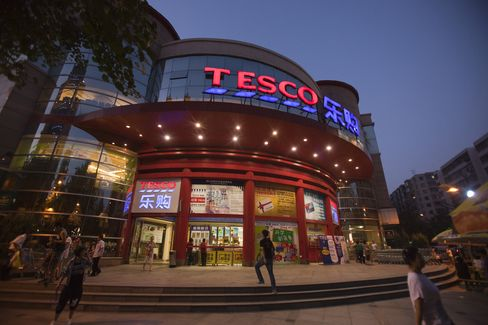 Tesco Stumbles With Wal-Mart as China Shoppers Buy Local