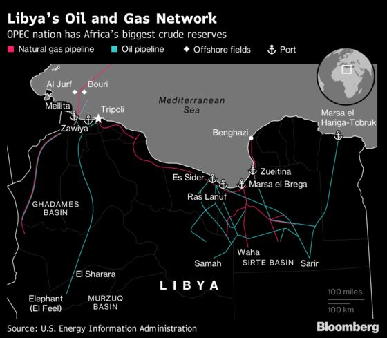 Europe Mulls Military Mission in Libya, Amid Oil Disruption