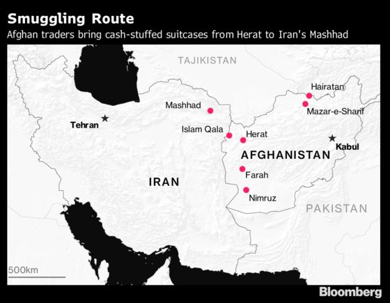 Trump's Iran Sanctions Trigger a Booming Cash Smuggling Business