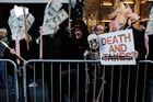 NYC Mayor De Blasio Joins Rally At Trump Tower Protesting GOP Tax Plan