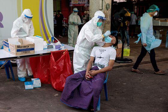 Thai Virus Cases Climb As Stricter Border Surveillance Ordered