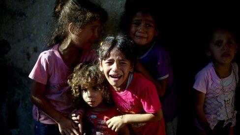 Israeli Airstrike Kills Palestinian Children in Gaza