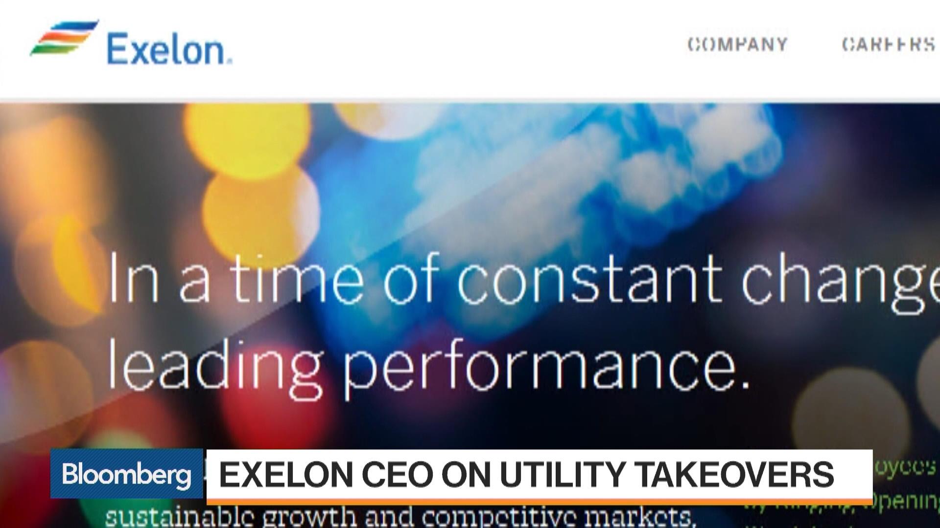 Excnew York Stock Quote Exelon Corp Bloomberg Markets