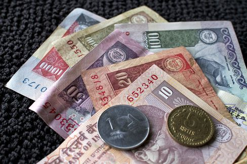 Rupee Rally Falters as Oil Rises to Two-Year High