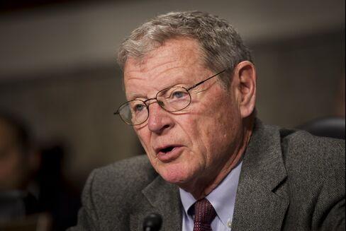 US-POLITICS-CONGRESS-BUDGET-DEFENSE-INHOFE