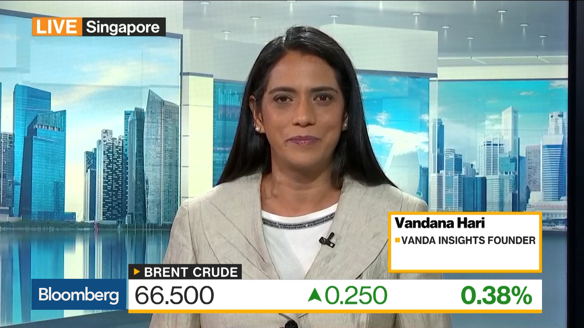 Saudis Are Overtightening the Oil Market Again, Says Vanda Insights's Hari