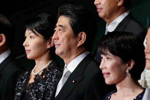 Japanese Prime Minister Shinzo Abe Reshuffles Cabinet