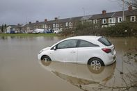 Flooding After Downpours From Storms Dennis and Ciara Hit Region