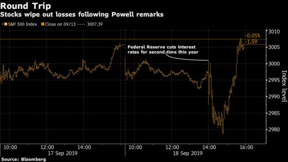 Dollar Rallies, Stocks Erase Losses After Fed Move: Markets Wrap
