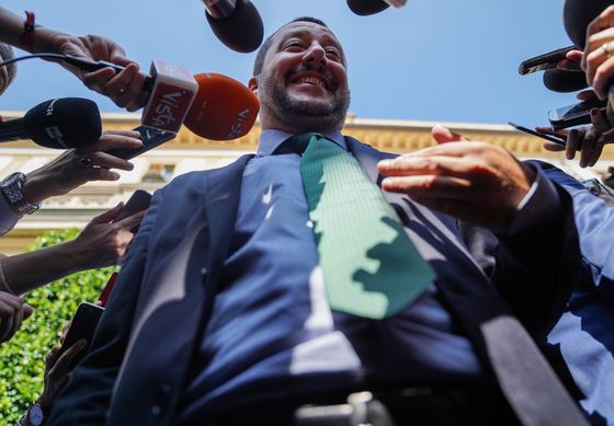 Salvini Plays Berlusconi Victim Card in Struggle With Judges