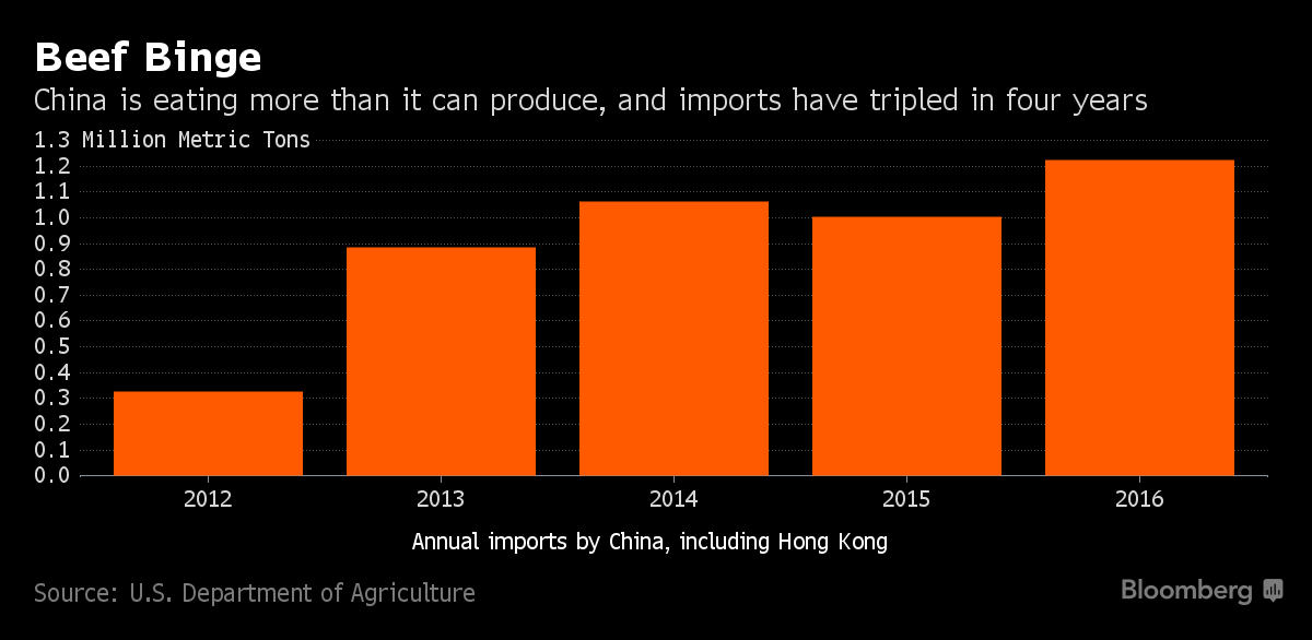 beef exports to china global analysis