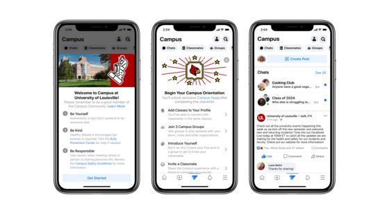 Facebook Adds College-Specific Profiles in Return to Roots