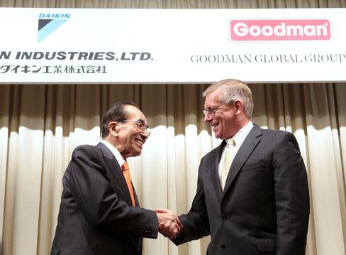 Japan's Daikin to Buy Competitor Goodman for $3.7 Billion