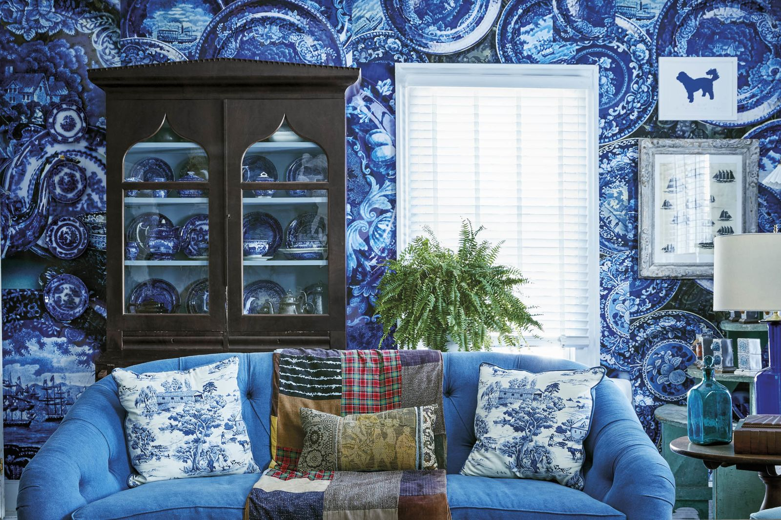 Sean Scherer's living room