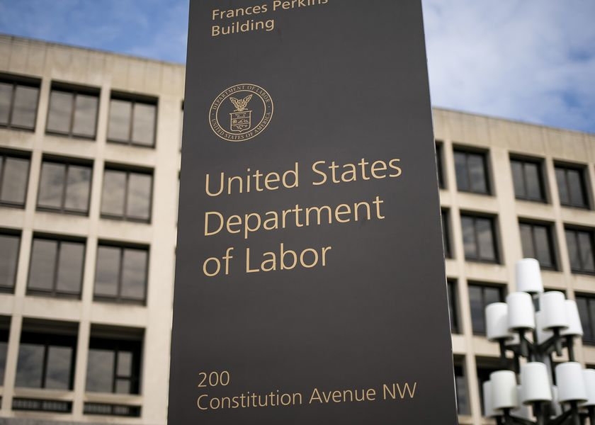 The Department Of Labor As Jobless Claims Poised for Historic Surge Amid Virus Layoffs