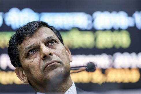 Reserve Bank Of India Governor Unveils Interest-Rate Decision